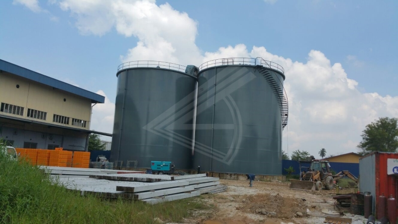 Install of Ms Tank at PGEO Edible Oils Sdn Bhd